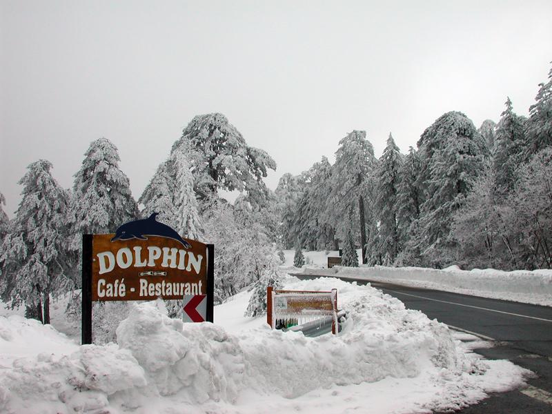 Snow on Olympos
