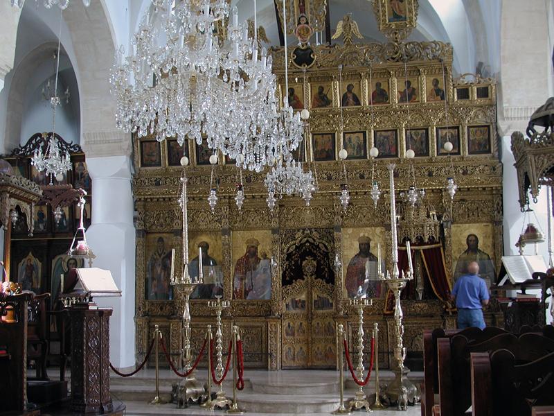 Омодос храм