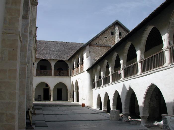 Омодос монастырь