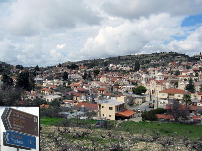 Жизнь на Кипре. Pachna