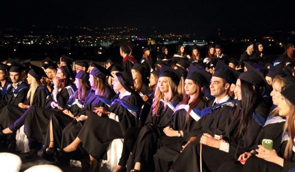 Первый выпуск в университете Neapolis