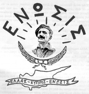 """""""enosis"""" - the movement for the reunification of the Greek people with their historical homeland"""