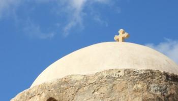 Крест храма Панагии Католики