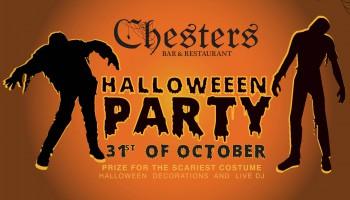 Хэллоуин в ресторане Честерс