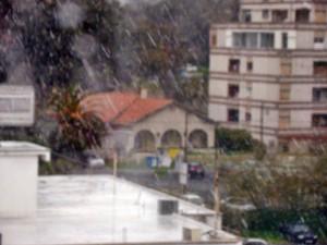 Снег в Никосии