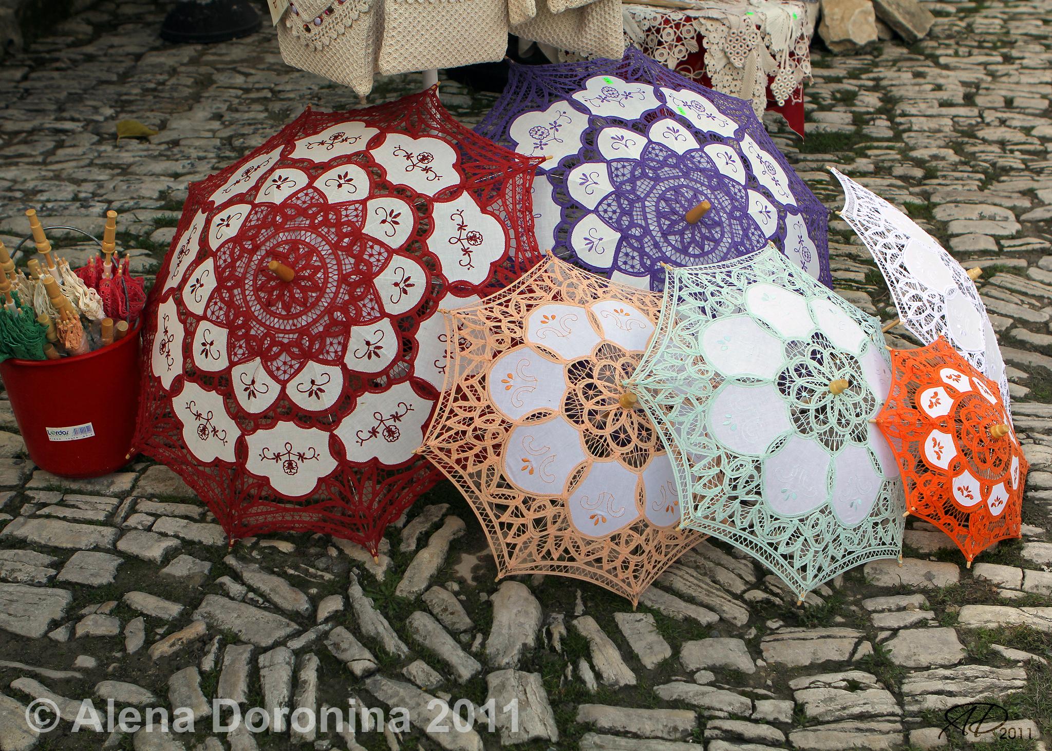 Зонтики в Омодосе