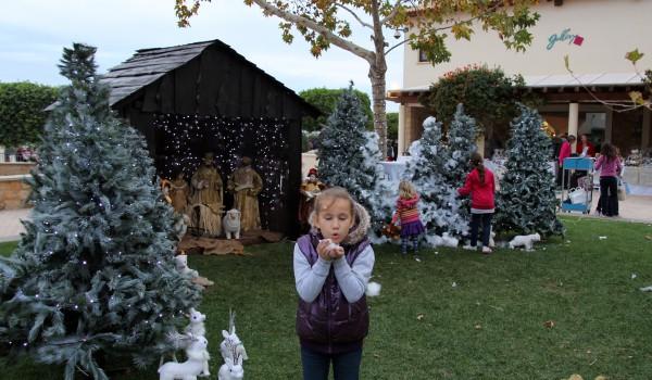Рождественская ярмарка в Aphrodite Hills