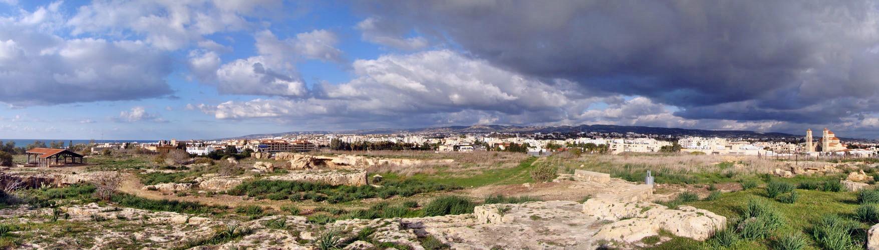 Кипр в ноябре. панорама