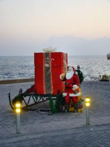 Кипр в ноябре. Санта Клаус