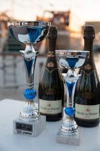 Sailing Stars - кубки и шампанское