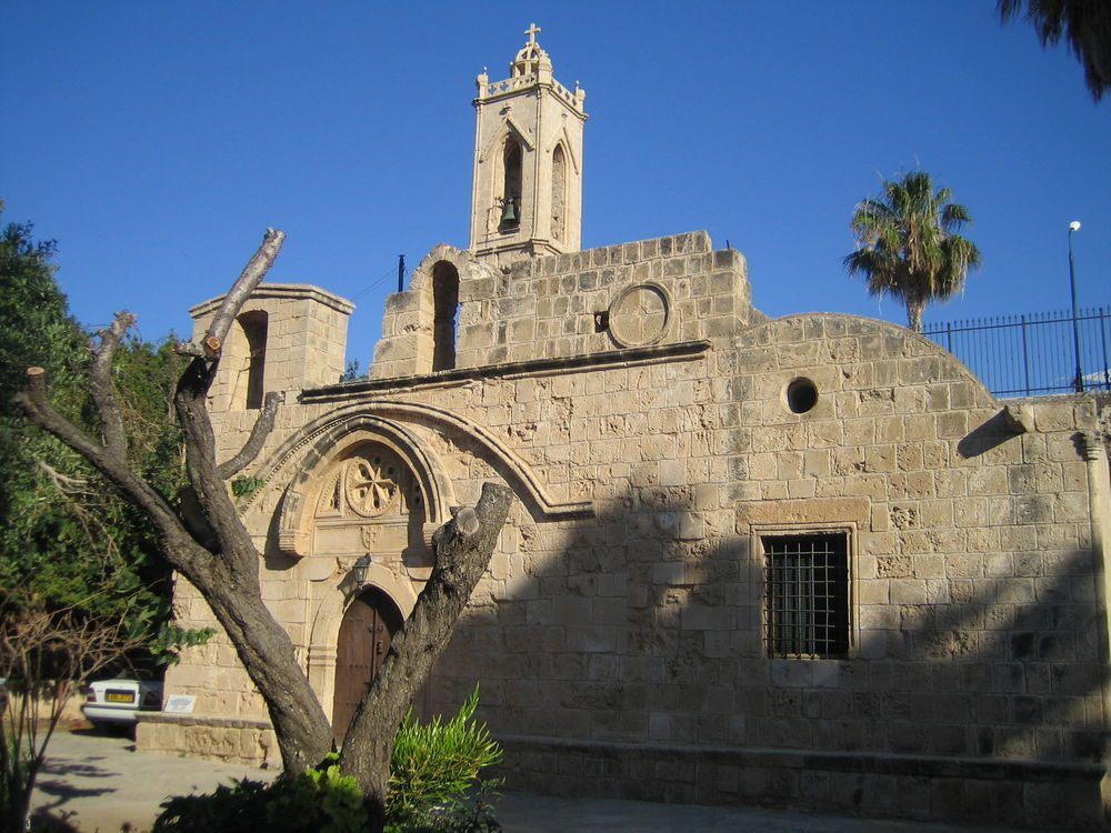 the Monastery in Ayia Napa