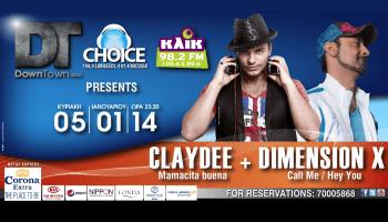 Claydee - Dimension-X