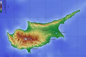Олимпос на карте