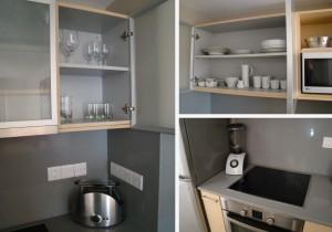 Оборудованная кухня