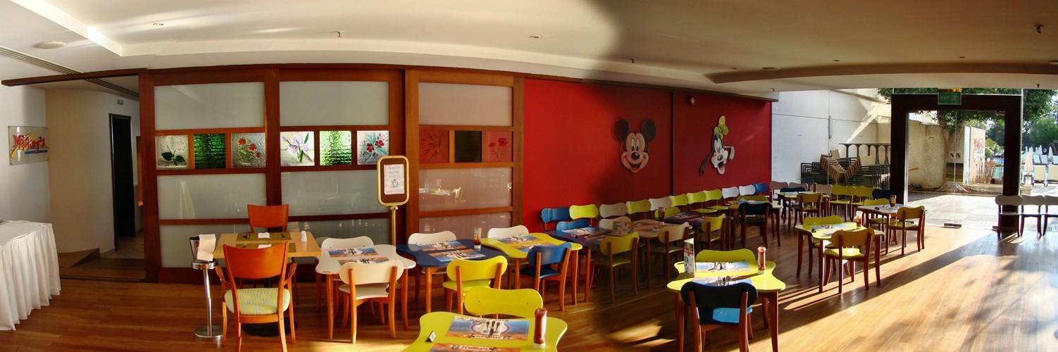 Детский ресторан в отеле Le Meridien