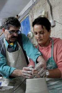Мастер-класс по созданию изделия из глины