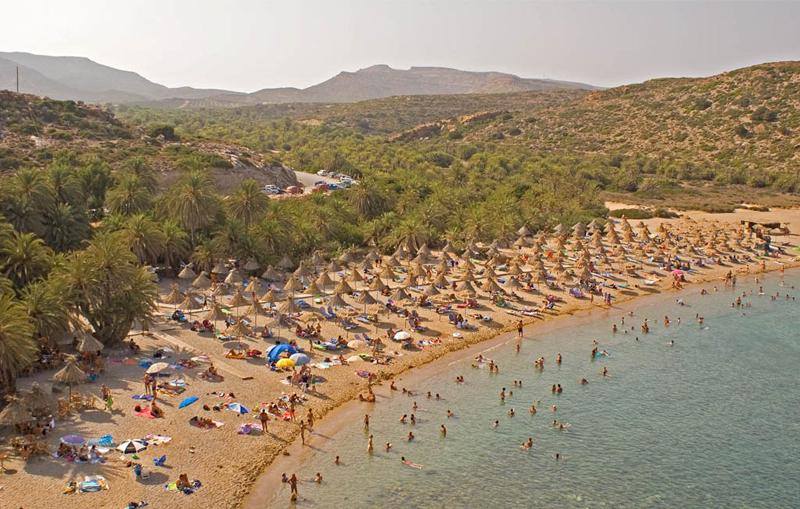 Крит. Пляж Ваи