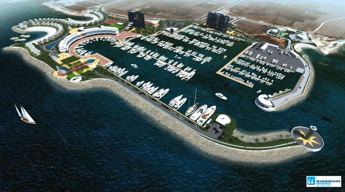 Проект пристани в Айя-Напе