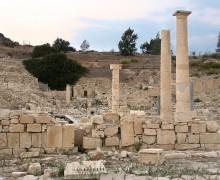 Раскопки старинного города Аматус