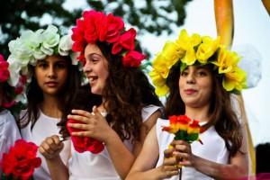 Фестиваль цветов на Кипре