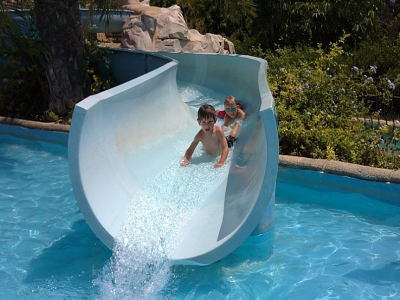 the Waterpark in Cyprus
