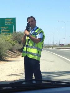 Полицейский с радаром