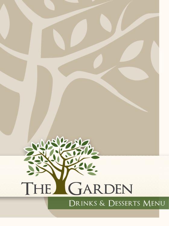 The Garden Dessert Menu