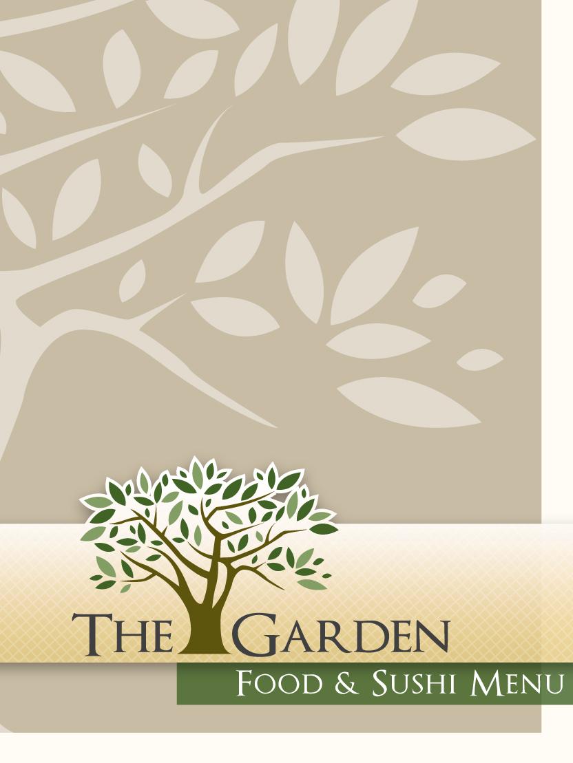 The Garden Menu