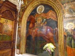 Икона святого Минаса