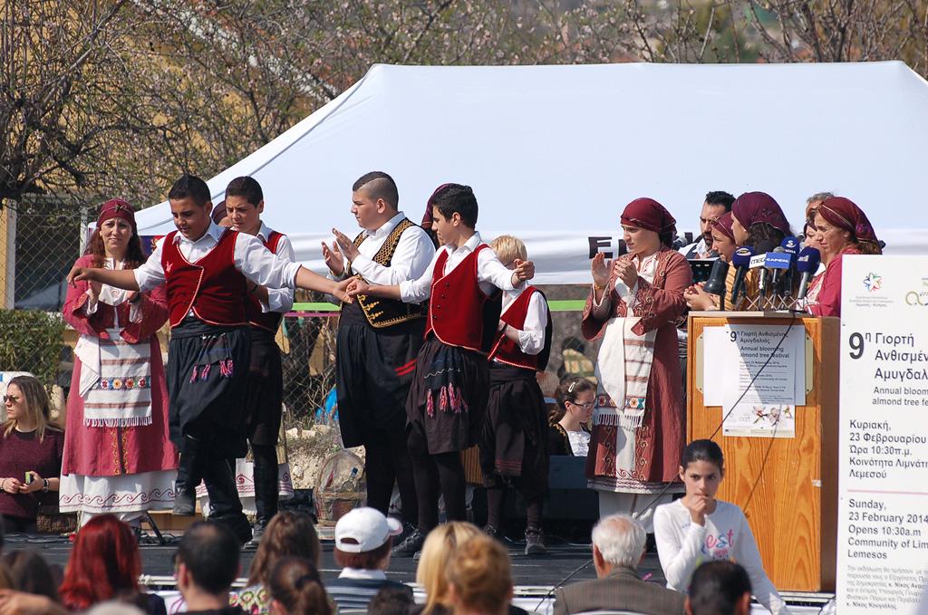 Фестиваль цветущего миндального дерева на Кипре