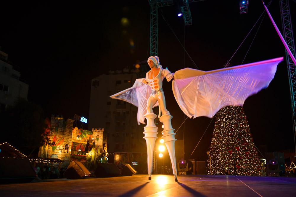 Цирк Ле Фарфаде на Christmas Mystery
