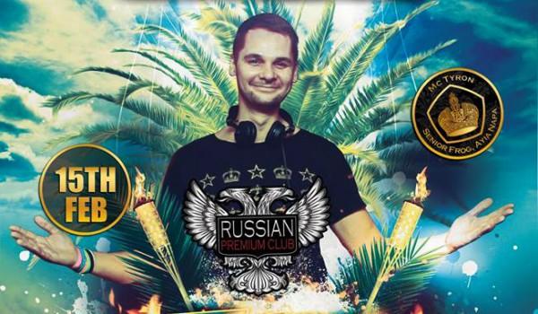 Диджей DMA в Russian Premium Club