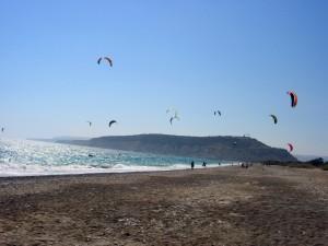 Кайтсерфинг на Кипре