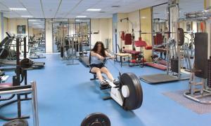 Фитнес центр в отеле Navarria