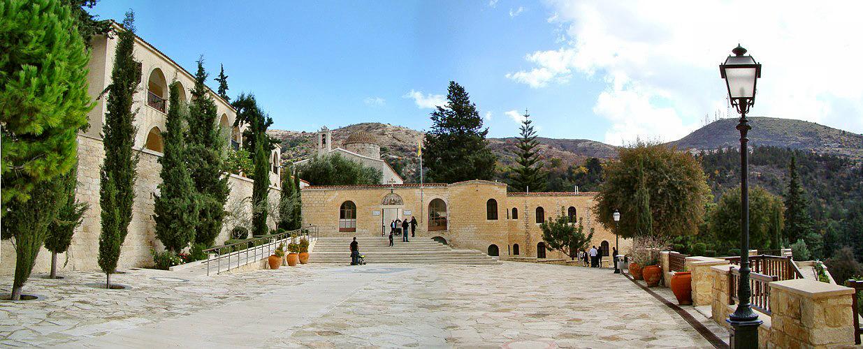 The monastery of Saint Neophytos
