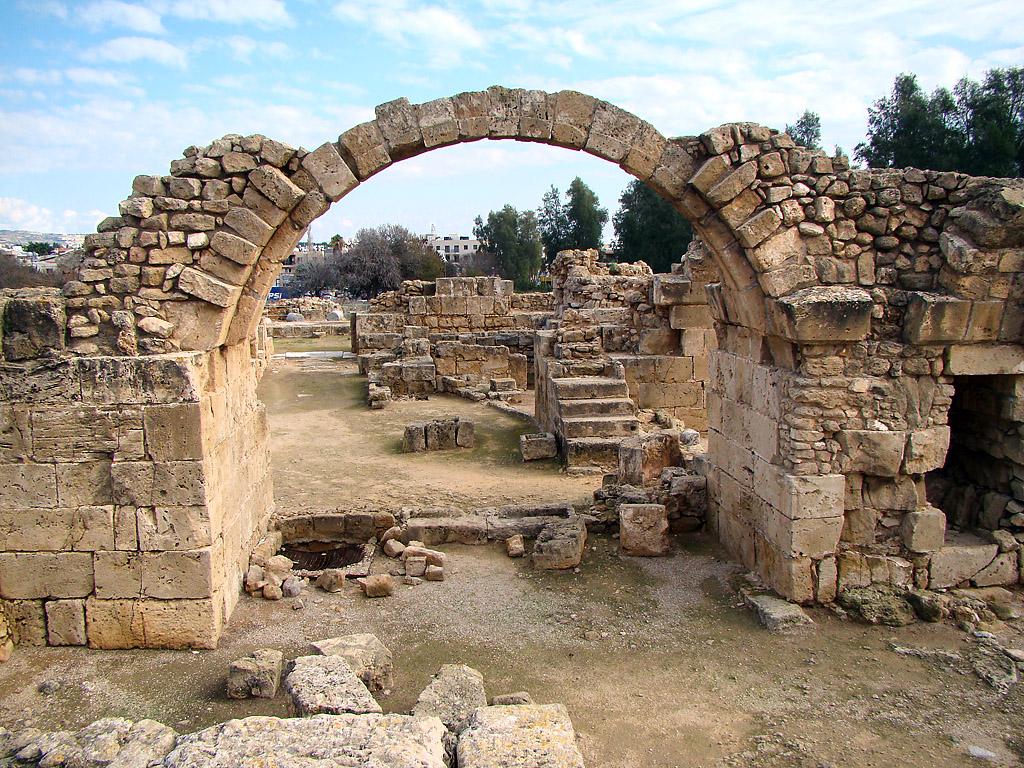 Пафос древняя столица Кипра