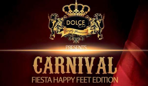 Карнавальная ночь в клубе Dolce
