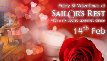 Sailors rest st.Valentine day