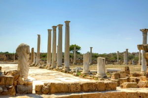 Раскопки в Саламисе