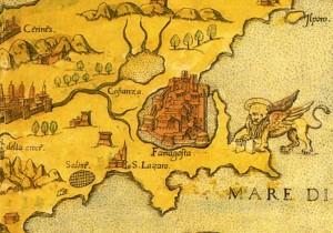 Cтаринная карта Кипра