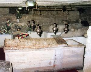 Собор Святого Лазаря саркофаг