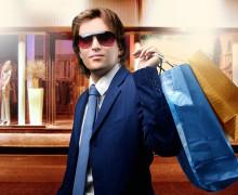 Мужчина с покупками