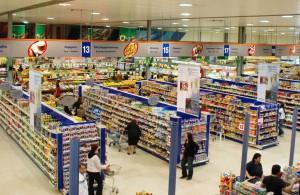 Супермаркет на Кипре