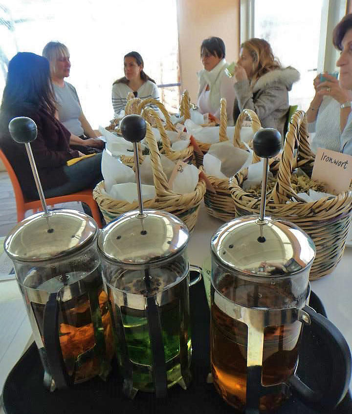 Чайный домик в экопарке CYHERBIA