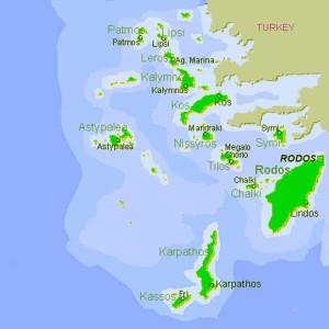 the Dodecanese archipelago