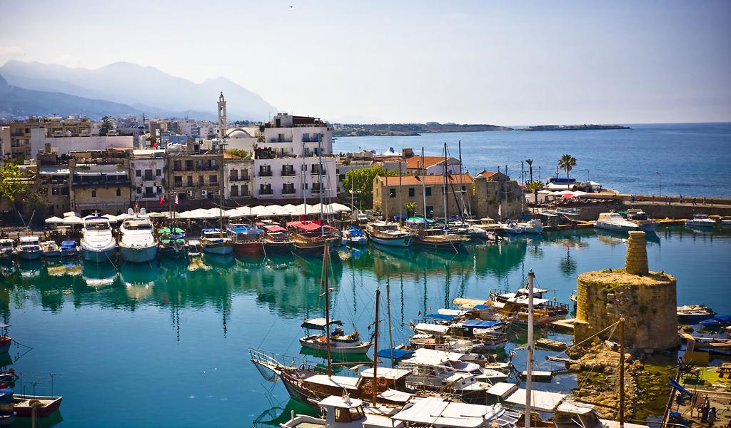 Пристань в Кирении