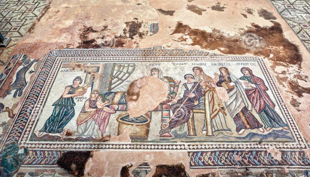 Мозаики в Пафосе