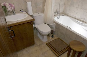 Ванная комната в отеле Paradisos Hills