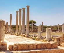 древний город Саламин