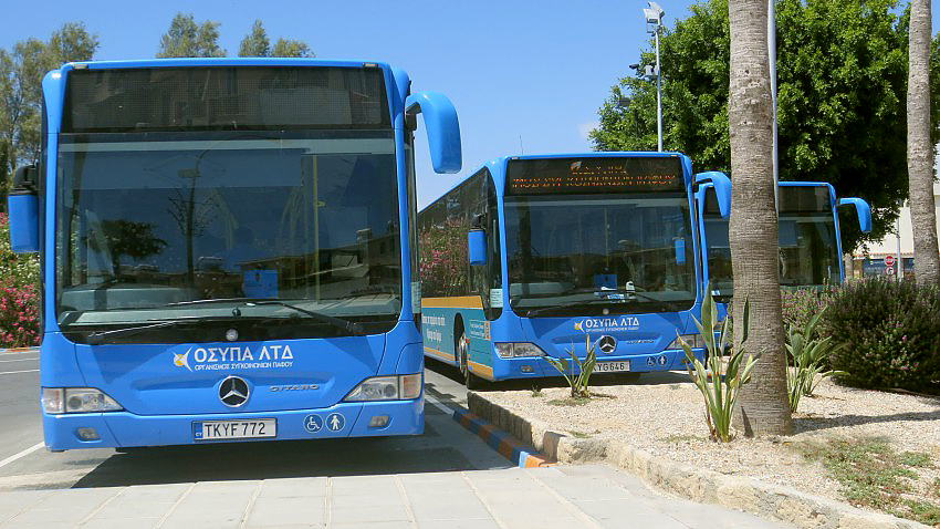 Intercity busses in Cyprus